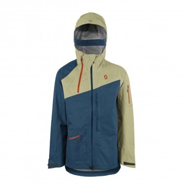 Scott Vertic 3L Jacket sahara beige/eclipse blue 16/17