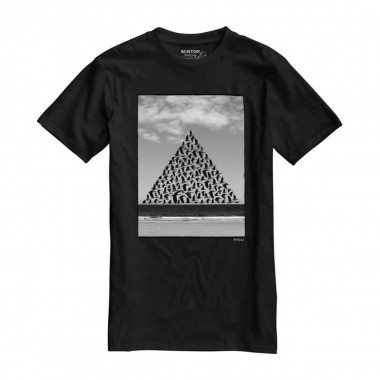 Burton Smith Slim SS Tee tr black 2016
