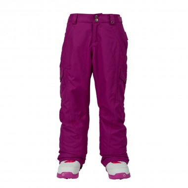 Burton Elite Cargo Pant girls grapeseed 16/17