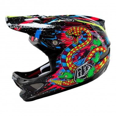 Troy Lee D3 CF blacklight black 2016