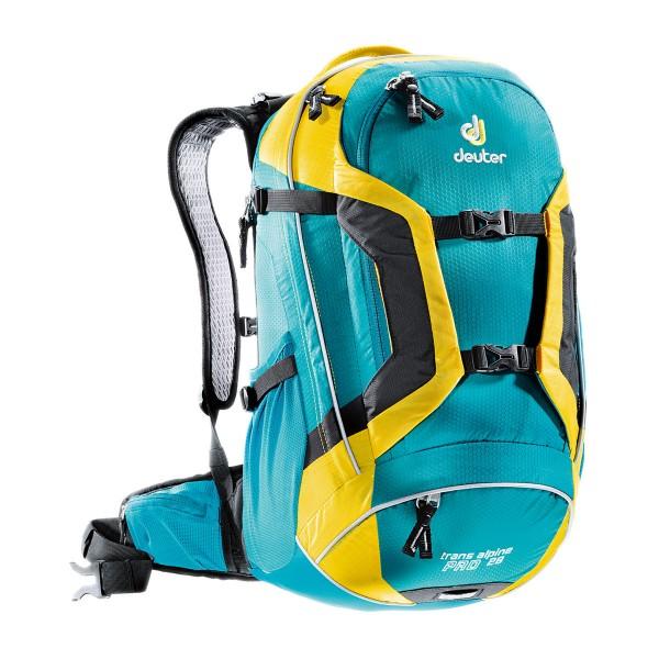 Deuter Trans Alpine Pro 28 petrol-lemon 2015
