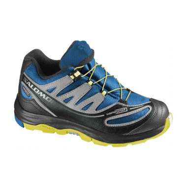 Salomon XA Pro 2 WP Kids blue/onix/yellow 14/15