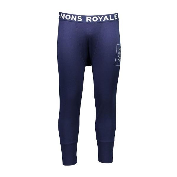 Mons Royale Shaun-off 3/4 Long John navy 17/18