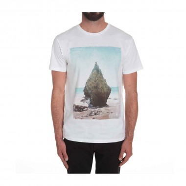 Volcom Stoned B Bsc SS Tee white 16/17