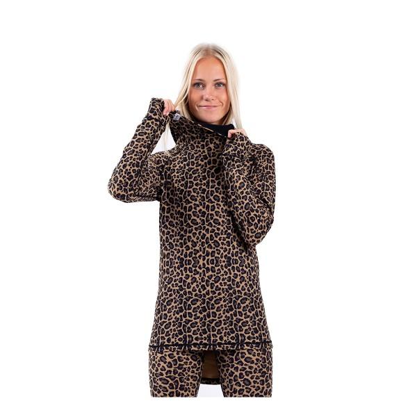 Eivy Icecold Hood Top wms leopard 20/21
