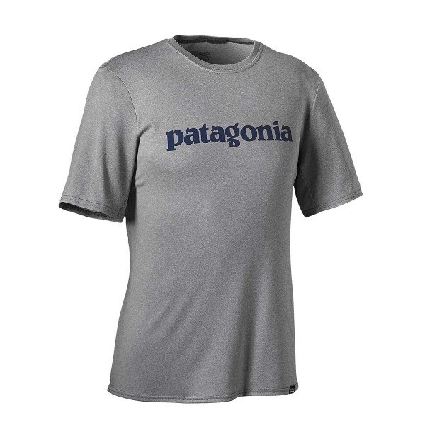 Patagonia Capilene Daily Graphic T-Shirt feather grey heather 2017