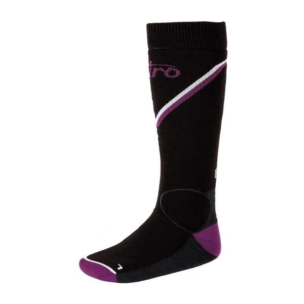 L1 Monarch Socks black/grey/purple/white 20/21