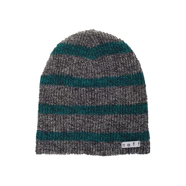 Neff Daily Stripe Beanie grey/green 14/15
