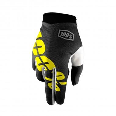 100% iTrack Glove black/yellow 2016