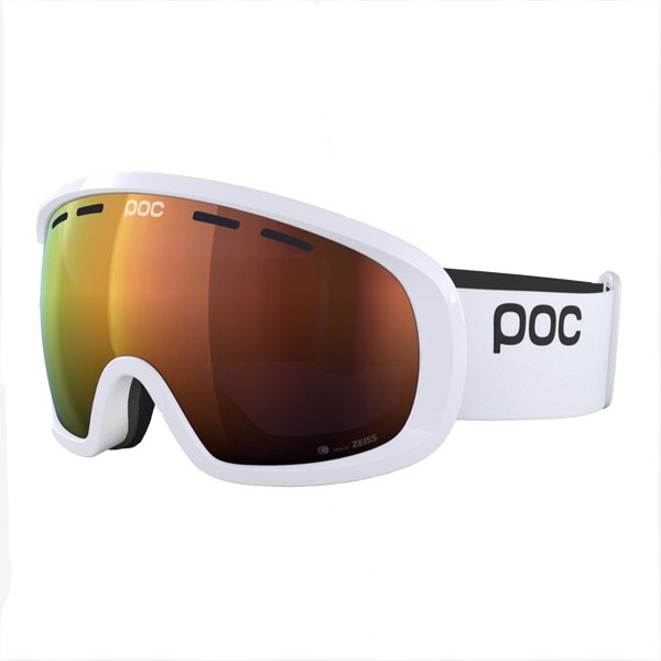 Poc Fovea Mid Clarity hydrogen white / spektris orange 20/21