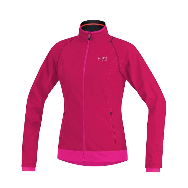Gore Element Lady Windstopper Active Shell Zip-Off Jacke jazzy pink/magenta 2016