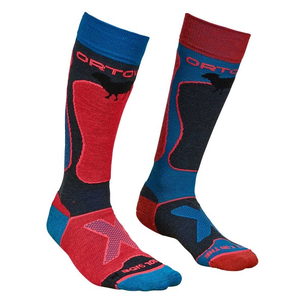Ortovox Ski Rock'N'Wool Socks wms night blue 18/19