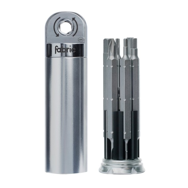 Fabric Chamber Ratchet Tool silver