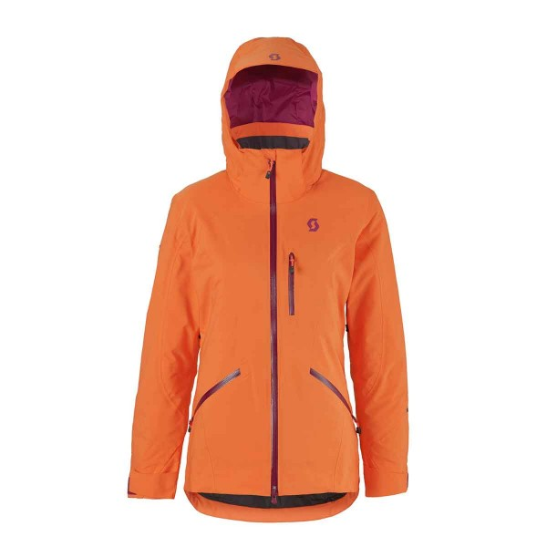 Scott Ultimate DRX Jacket wms orange 16/17
