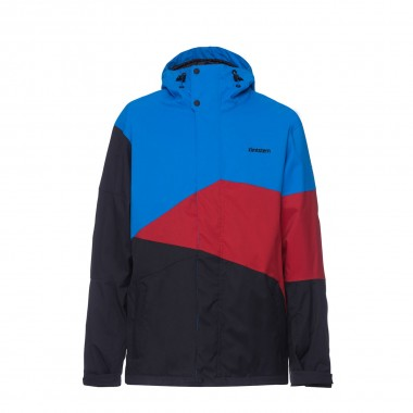 Zimtstern Inventor Snow Jacket black/blue bird/pepper 15/16