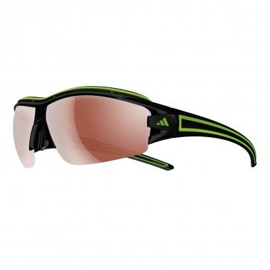 Adidas Evil eye halfrim pro L shiny black/green