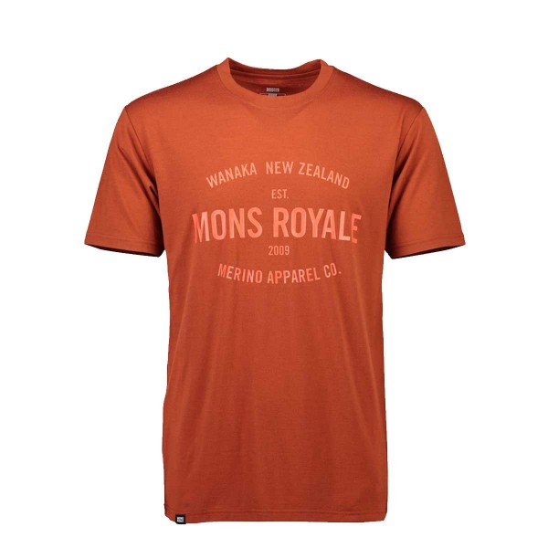 Mons Royale Icon T-Shirt clay 2019