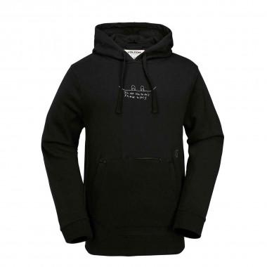 Volcom JLA Pullover Fleece black 16/17