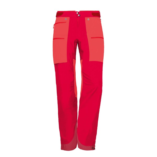 Norrona lyngen WS Hybrid Pants wms red 18/19