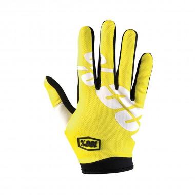 100% iTrack Glove neon yellow 2016