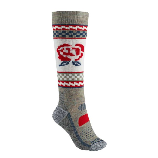 Burton Performance Midweight Sock wms oatmeal heather 19/20