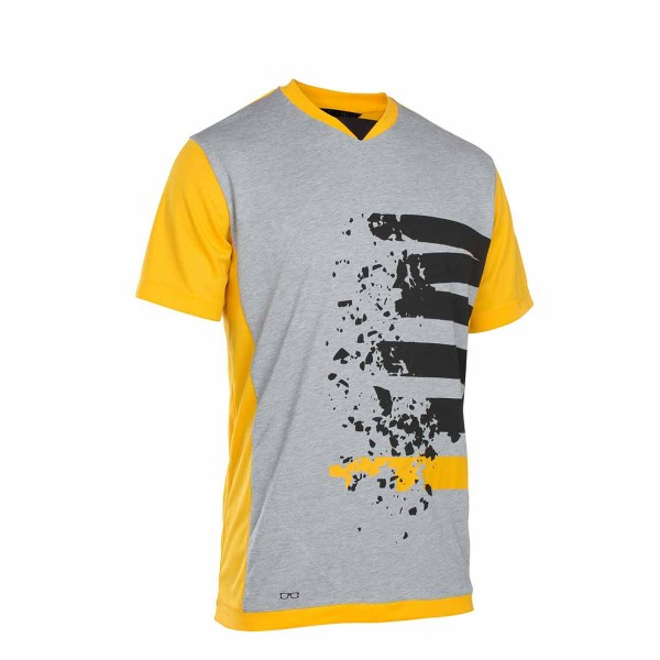 Ion Scrub Amp Letters SS Tee smiley yellow 2019