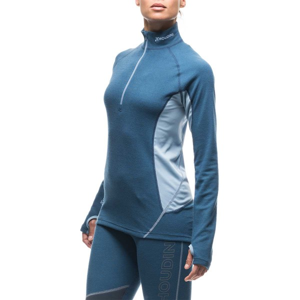 Houdini Alpha Zip Baselayer wms canyon blue 15/16