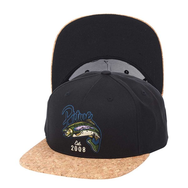 Picture Bakers Snapback Hat black 2018