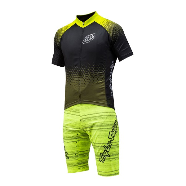 Troy Lee Ace Short Bib, distorted lime green 2016