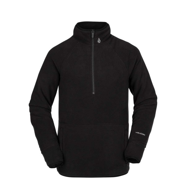 Volcom Polartec Jacket 1/2 Zip black 19/20