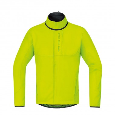 Gore Power Trail Windstopper Softshell Thermo Jacke yellow 16/17