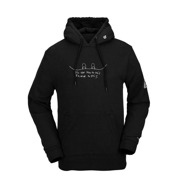 Volcom JLA Pullover Fleece black 20/21