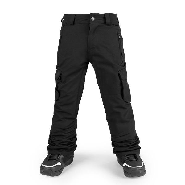 Volcom Cargo Ins Pant boys black 17/18