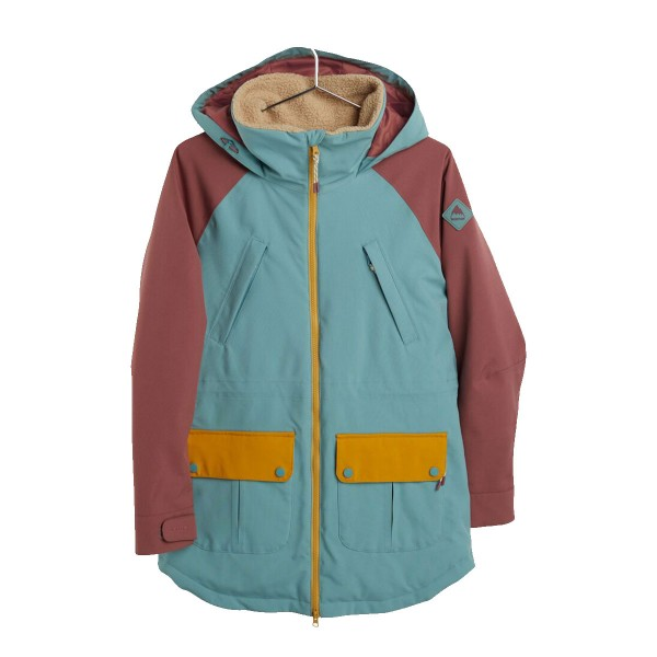 Burton Prowess Jacket wms trellis/brown/gold 20/21