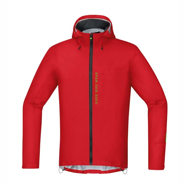 Gore Power Trail Gore Tex Active Jacke red 2016