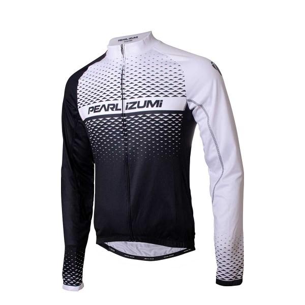 Pearl Izumi Elite LTD Thermal LS Jersey black / white 19/20