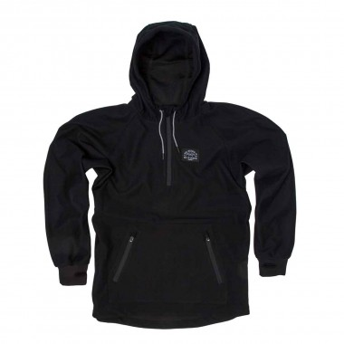 Saga Outerwear Anorak Bonded Pullover black 16/17