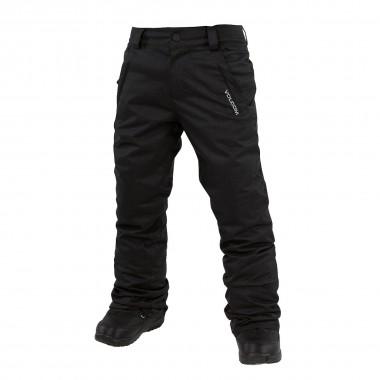 Volcom Freakin Snow Chino Pant boys black 16/17