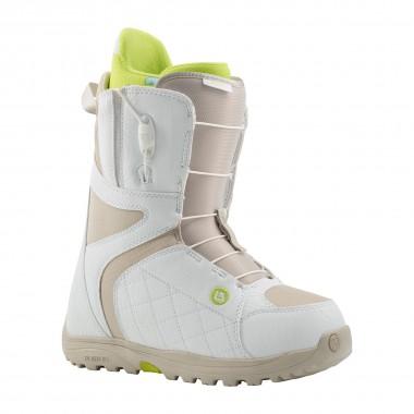 Burton Mint Snowboard Boot wms white/tan 14/15