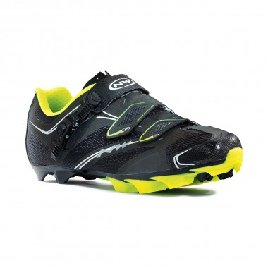 Northwave Scorpius SRS black/yellow Fluo 2015