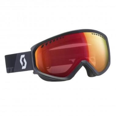 Scott Notice OTG Skibrille für Brillenträger grey/yellow/red chrome 16/17