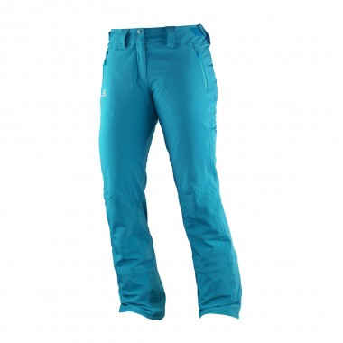 Salomon Iceglory Pant wms kouak blue 16/17
