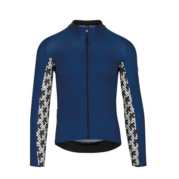 Assos Mille GT LS Jersey caleum blue 2020