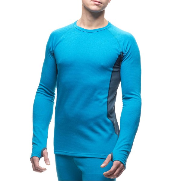 Houdini Alpha Crew Base Layer blue/denim
