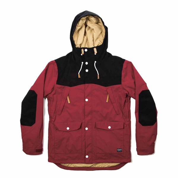 Colour Wear Käppeli Jacket burgundy 14/15