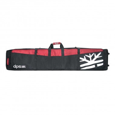 DPS Quiver Ski Bag black/red 16/17