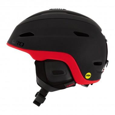 Giro Zone Mips mat black/bright red 16/17