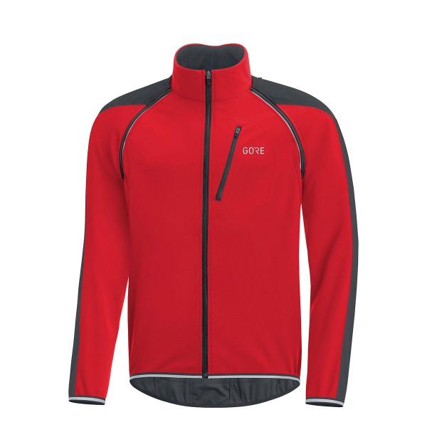 Gore Wear C3 Gore WS Phantom Zip-Off Jacket red / black 19/20