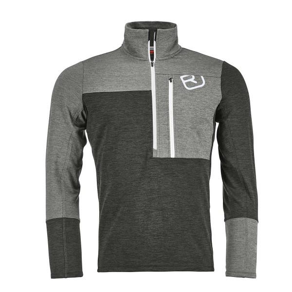 Ortovox Fleece Light Zip Neck grey blend 19/20