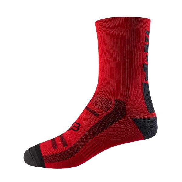 """Fox Trail Sock 8"""" bright red 2018"""